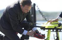 Drönare som räddar liv vid Nordiska statsministermötet om 5G i Örnsköldsvik